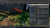 Small screenshot of Amazon Lumberyard running on Windows.