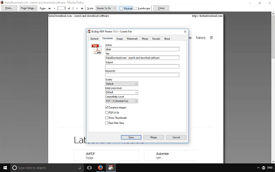 Bullzip Pdf Freeware