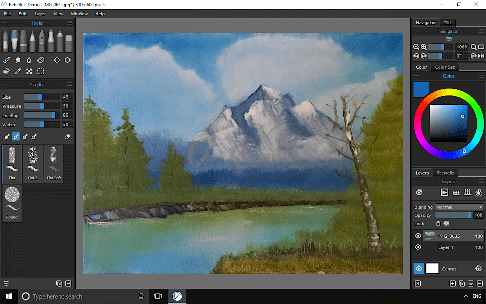 Best digital painting software for Windows - KubaDownload
