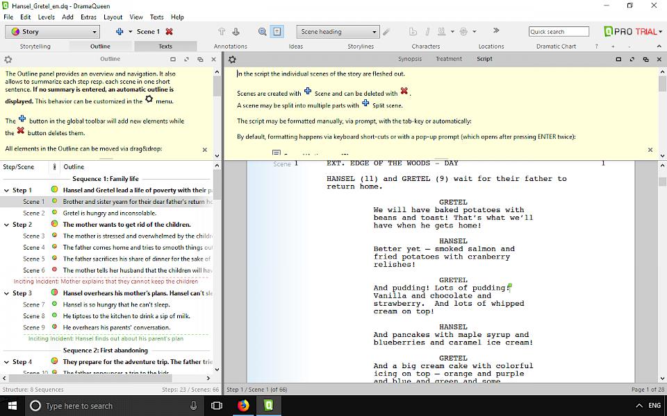 Screenwriting Software and Script writing Software