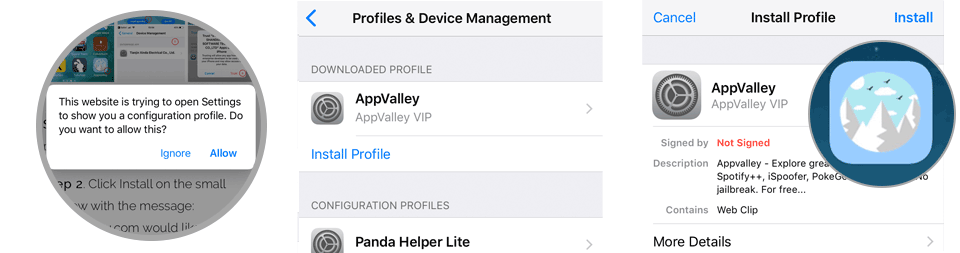 AppValley iOS  Install the AppStore on your iPhone