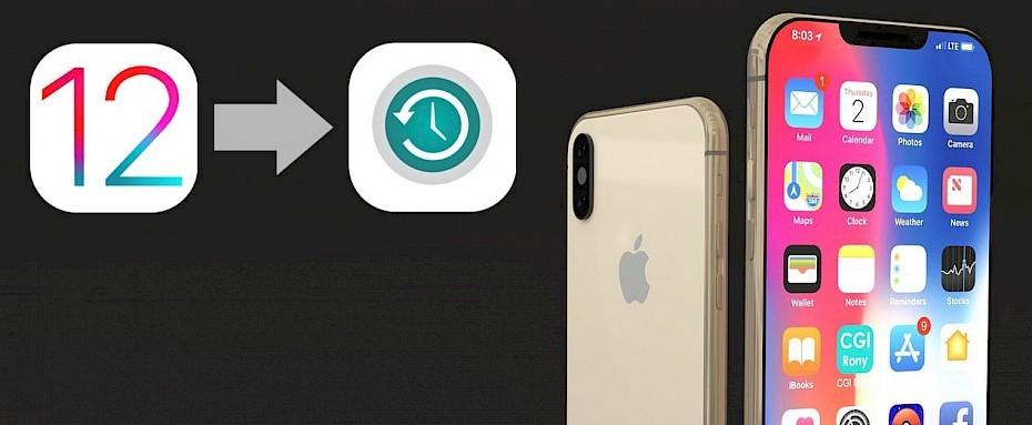 How to downgrade iOS to 12 4 - jailbreak ready