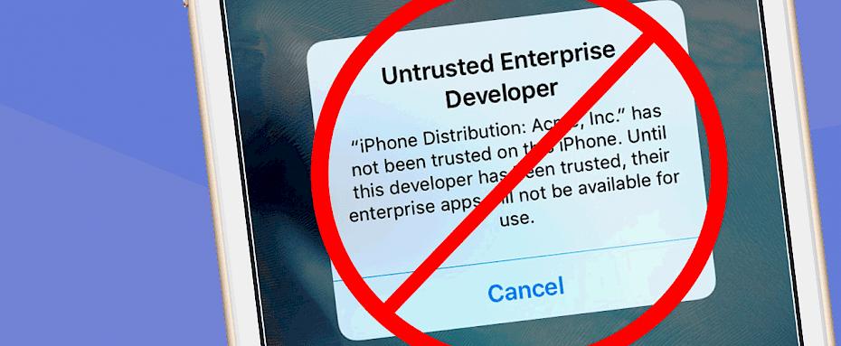 Anti revoke iOS  How to avoid apps revokes