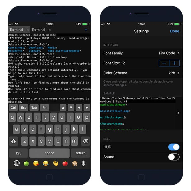 Terminal apps for iOS  Use Command Line on iPhone
