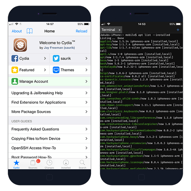 How to use Cydia from terminal on iOS 12