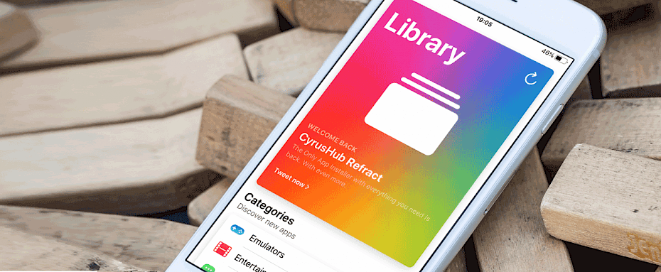 CyrusHub Mist iOS App Installer