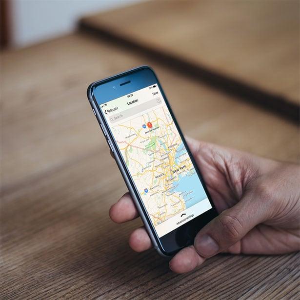 Set fake location on iPhone iOS 12 with Relocate tweak