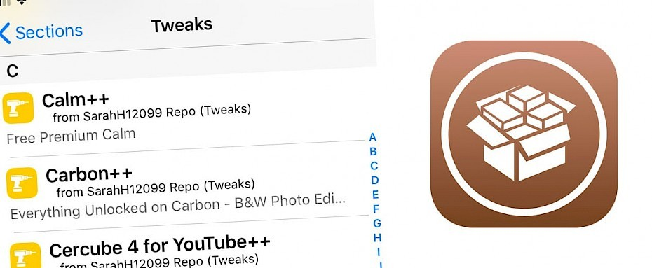 App ++ tweaks for iOS