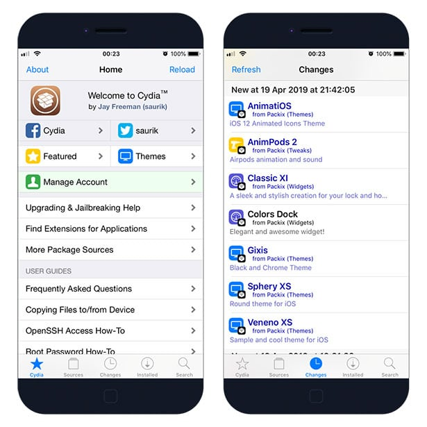 Yalu Jailbreak  Cydia on iOS 10 - 10 2
