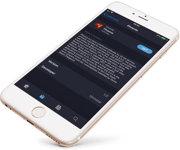 Phoenix Jailbreak IPA for iOS 9 3 5 - 9 3 6 / no computer