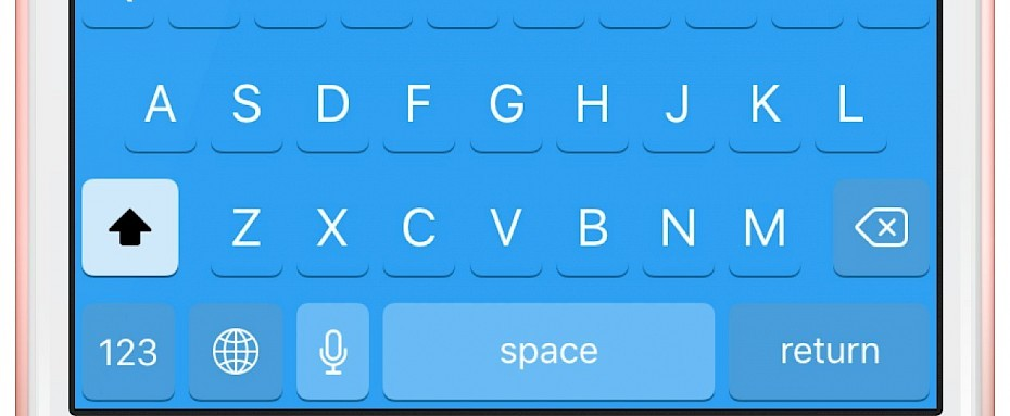 CuKey tweak will change iPhone keyboard color and sound